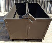 Контейнер грейферный (челюстной) без крышки 1,5 м/куб