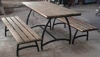 Садовая группа (2 лавочки + стол)