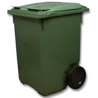 Пластиковый мусорный контейнер 360л.