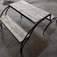 Скамейка-трансформер (2 скамьи + стол) 1,8 м